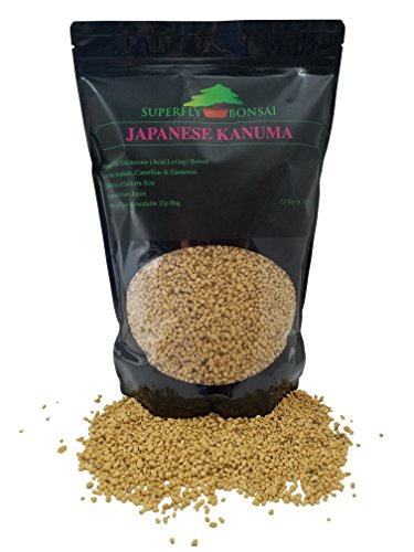 Kanuma Bonsai Soil - Sifted and Ready to Use - Great for Azaleas - Can Also Be Used As an Additive in Easy Zip Bag - (2.5 Dry Quart) (2.5 Dry Quarts)