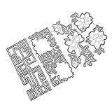 xmiral fustelle per scrapbooking per carta cutting dies metallo fustella stencil #19042602, accessori per big shot e altre macchina(c)
