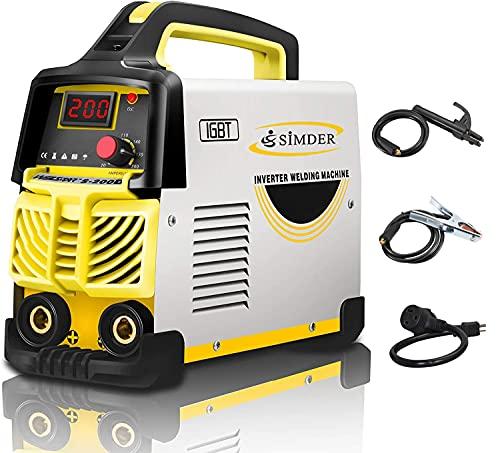 Welder Arc Welder 160Amp Stick Welder 110v/220v MMA Welding Machine IGBT Smart Hot Start fits 2.5mm 3.2mm Welding rods