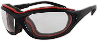 Magid Y85 Gemstone Onyx Protective Glasses with Black Frame and Clear Lens