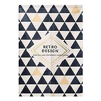 BAIHT HOME のれん 暖簾 綿麻混 北欧風 三角形 おしゃれ 室内インテリア 突っ張り棒付き 幅80cm×丈90cm