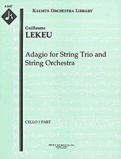 Adagio for String Trio and String Orchestra: Cello 1 part (Qty 4) [A1047]
