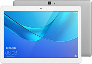 ALLDOCUBE M5X 4G Tablet PC, 10.1 Pulgadas 2560x1600, MTK X27 Deca Core, 4GB RAM y 64GB ROM, Android 8.0, Doble cámara Frontal 2 MP Trasera 5 MP, GPS,Bluetooth 4.2, Color Plateado