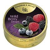Cavendish & Harvey - Wild Berry Drops - Bonbons, 200g in Metalldose