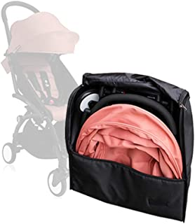 Baby Stroller Accessories for Babyzen Yoyo Travel Bag Knapsack Pram Backpack Yoya YuYu Vovo Babytime Storage Bag (Black)