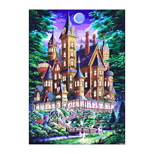 Castle Diamond Painting 5d Full Drill Round Beads Handpaint Art Crafts for Adults Kids Catroon Diamond Painting