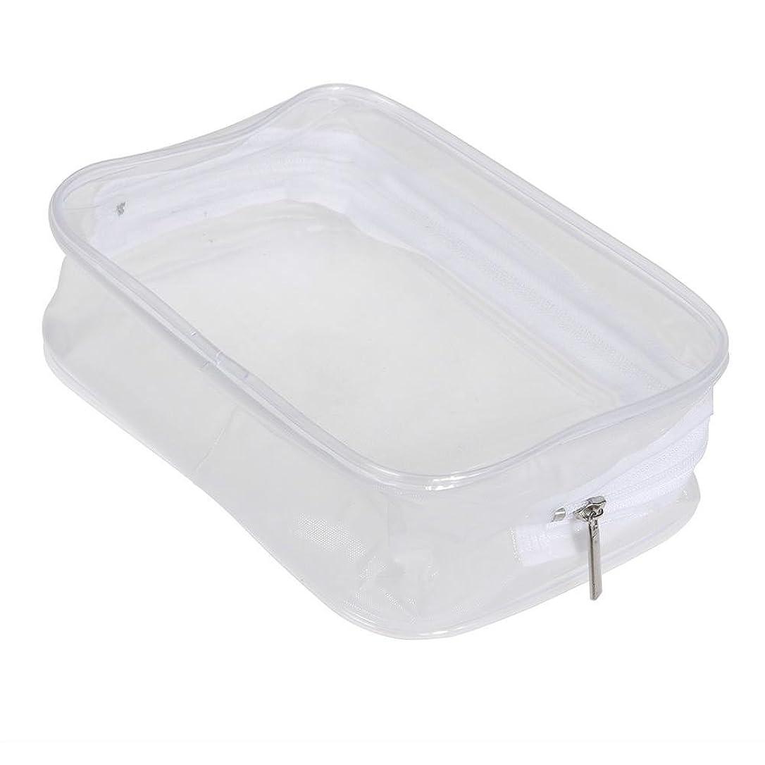 レビュアーパトロール社会主義者Ecotrump PVC透明 化粧ポーチ 化粧バッグ 化粧道具 レディース 防水 ポータブル プラスチック 小物入れ ミニ財布 コインポーチ 洗面用具入れ