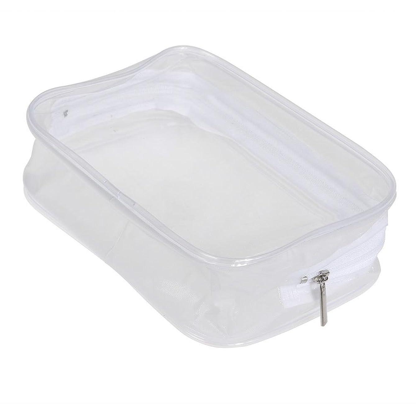 危険受け入れ講義Ecotrump PVC透明 化粧ポーチ 化粧バッグ 化粧道具 レディース 防水 ポータブル プラスチック 小物入れ ミニ財布 コインポーチ 洗面用具入れ