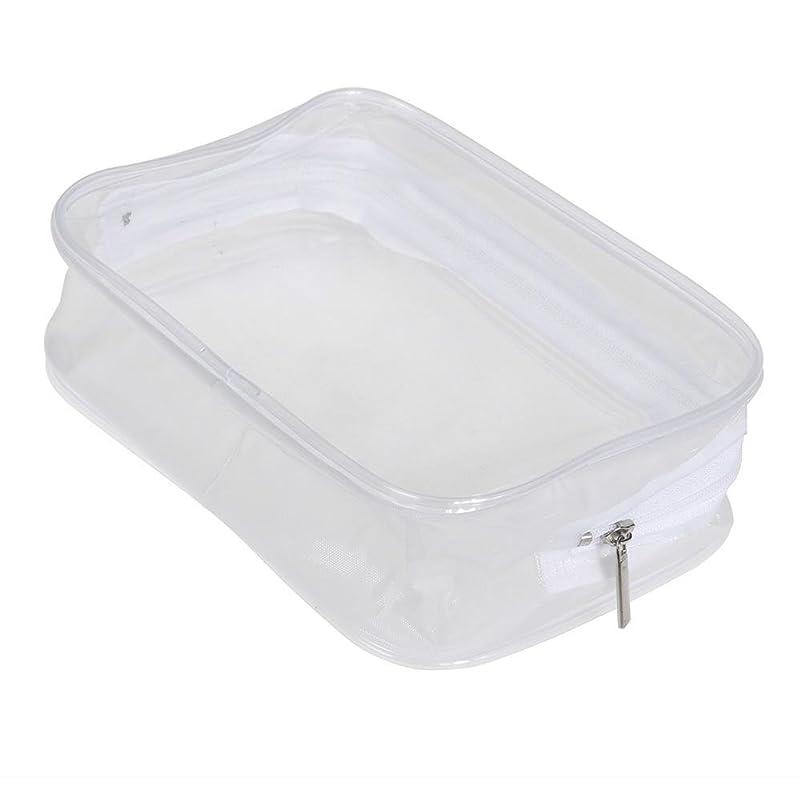 Ecotrump PVC透明 化粧ポーチ 化粧バッグ 化粧道具 レディース 防水 ポータブル プラスチック 小物入れ ミニ財布 コインポーチ 洗面用具入れ