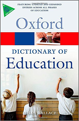 Download A Dictionary of Education (Oxford Quick Reference) 0199679398