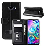 ROVLAK Case for LG G8X ThinQ Wallet Flip Cover with Card