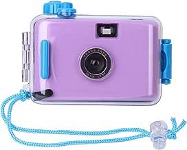 Yevison Underwater Waterproof Lomo Camera, Mini Cute 35mm Film with Housing Case Purple Premium Quality
