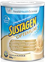 Sustagen Optimum - Nutritional Ready To Mix Daily Supplement With High Protein, Minerals, Vitamins, Probiotic, Fiber For E...