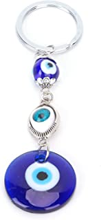 Sleutelhangerornamenten, exotische charme Blue Eye-sleutelhanger kan positieve energie en geluk brengen Gemaakt van legeri...