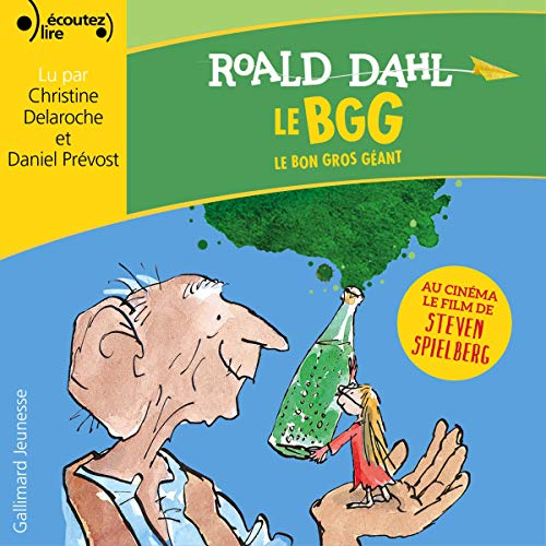 Le Bon Gros Géant audiobook cover art