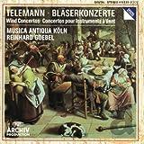 Telemann : Concertos pour instruments à vent (flûtes, hautbois, trompette, chalumeaux etc) / Reinhardt...