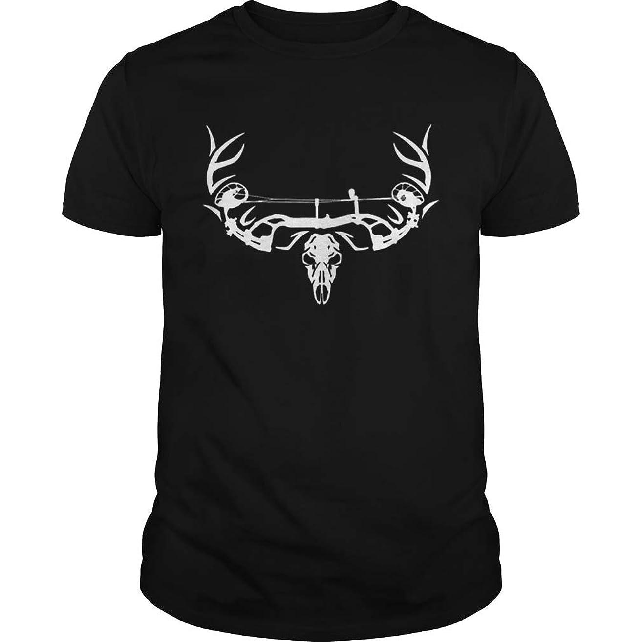 Archery Bowhunting Deer Skull Unisex T Shirt