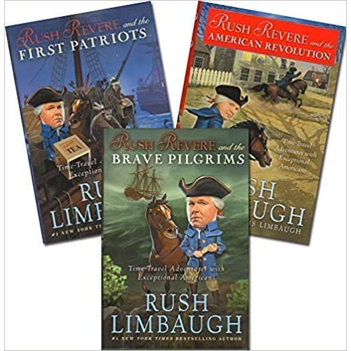 Rush Revere and 3 Book Series Set:Rush Revere and the Brave ...