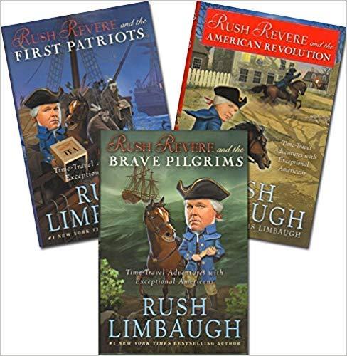 Rush Revere and 3 Book Series Set:Rush Revere and the Brave Pilgrims;Rush Revere; and the First Patriots;Rush Revere and the American Revolution