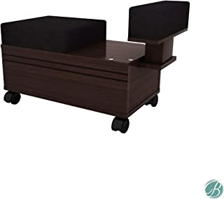 Berkeley Pedicure Cart with Footrest Beauty Nail Salon Furniture