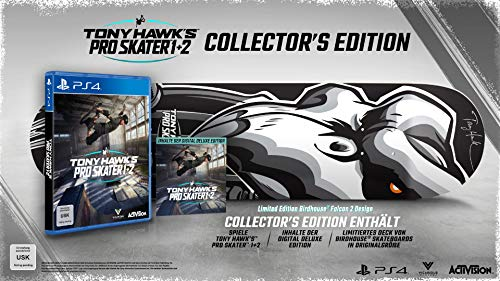 TONY HAWK´S Pro Skater 1+2 Collectors Edition - [PlayStation 4]
