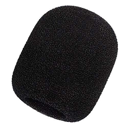 keepdrum WS02 - Protector antipop de espuma para micrófonos de condensador de membrana grande