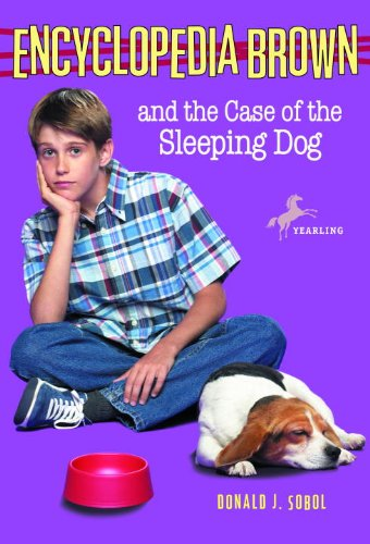 Encyclopedia Brown and the Case of the Sleeping Dog (English Edition)
