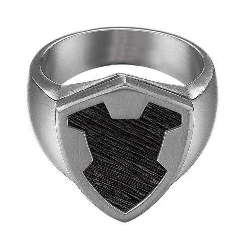 Esprit Herren-Ring Edelstahl Crest