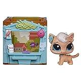 Littlest Pet Shop Mini Style Set with Meow Meow Milkone Figure