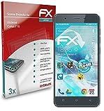 atFolix Schutzfolie kompatibel mit Mobistel Cynus F10 Folie, ultraklare & Flexible FX Bildschirmschutzfolie (3X)