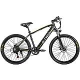 Bicicleta eléctrica Plegable 27.5 Pulgadas 350 W 48 V 9.6 Ah Bicicleta de montaña Batería de Litio extraíble Velocidad máxima 25 km/h Resistente al Agua Nivel IP65