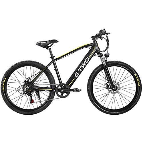 WFWPY Bicicleta montaña Plegable 26 Pulgadas, Bicicleta eléctrica Bicicleta de montaña Plegable,...
