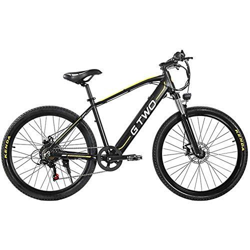 Bicicleta eléctrica Plegable 27.5 Pulgadas 350 W 48 V 9.6 Ah Bicicleta...