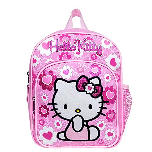 Mini Backpack - Hello Kitty - Pink Flower Bow New School Bag 84022 by Hello Kitty