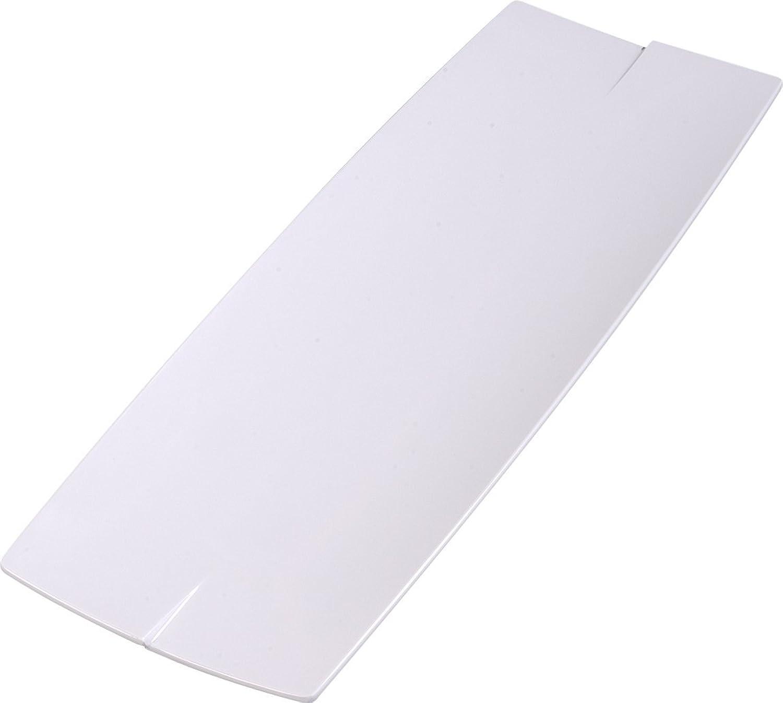 Carlisle 3332402 Rave Melamine Display Rectangular Platter, 23 x 7.87 x 0.87 , White (Case of 6)