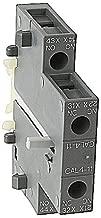 ABB CAL4-11, 1-N/O & 1-N/C Aux Contact Block, SIDE Mount, fits AF09-AF96 Contactors