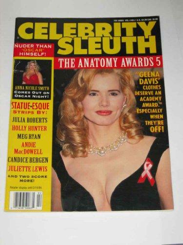 Celebrity Sleuth Adult Magazine February 1995