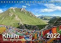 Kham - Tibets abgelegenes Hochland (Tischkalender 2022 DIN A5 quer): Monatskalender, 14 Seiten (Monatskalender, 14 Seiten )