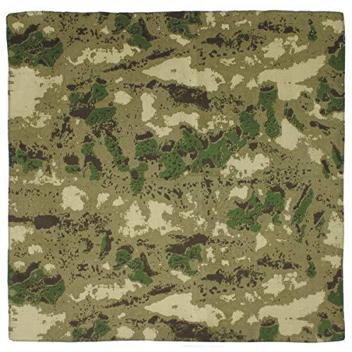 MFH Bandana, HDT - camo FG, Gr. 55 x 55 cm, Baumwolle Mundschutz Mund- Nase- Schutz