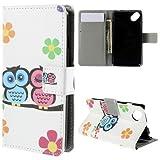 jbTec® Flip Case Handy-Hülle passend für Wiko Sunset 2 /