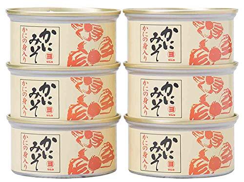 マルヨ食品『かにの身入り かにみそ 缶詰』
