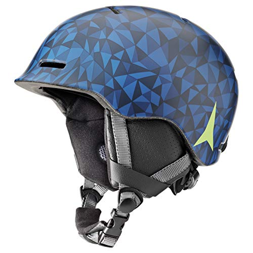 Atomic Mentor JR Kinder-Skihelm, S (53-56 cm), Blau, AN5005580S