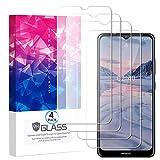 Ycloud 4 Pièces Verre Trempé pour Nokia 2.4,HD Transparent Screen Protector [Anti-Rayures]...