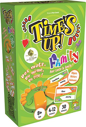 Asmodee - TUF1NGMS - Times Up Family 1 Gms - Nouvelle Editio