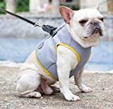 Hifrenchies Dogs Cooling Vest Harness for Outdoor Walking-French Bulldog Summer Cooler vast Jacket -Safety Sun-Proof Pet Coat Vest Harness for Frenchie