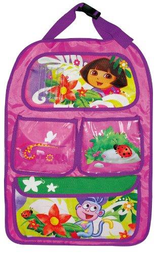 Dora DE-KFZ-650 - Organizador de Juguetes para Respaldo de Asiento de Coche, Color Morado, diseño de Dora la Exploradora