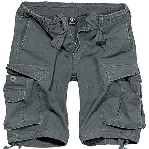 Brandit Vintage Short Gr:- M, Farbe:-Anthrazit