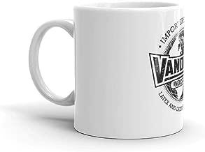Vandelay Industries (Black) Mug 11 Oz White Ceramic