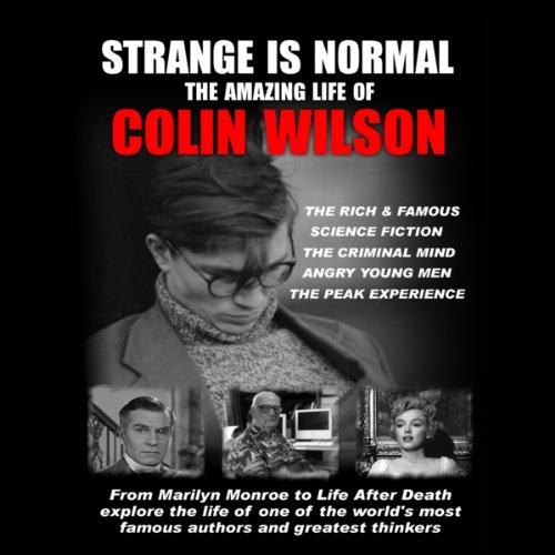 Strange Is Normal: audiobook cover art