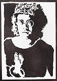 Elton John Poster Plakat Handmade Graffiti Street Art -